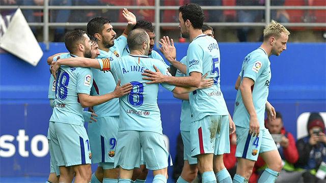 LALIGA FCB | Eibar - FC Barcelona (0-2)
