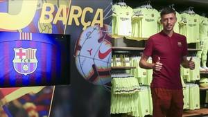 Lenglet ya posa como futbolista del Barça