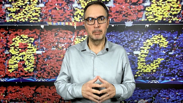 Lluís Mascaró analiza el partido del Barça en Nápoles