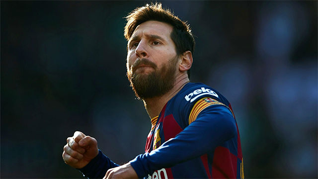 Los dos pókers de Messi al Eibar