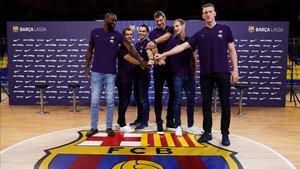 Los seis nuevos fichajes del Barça se estrenan en el Palau