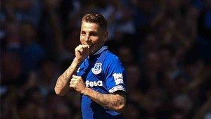 Lucas Digne está triunfando en el Everton