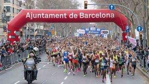 La Maratón de Barcelona se celebrará pese a la pandemia
