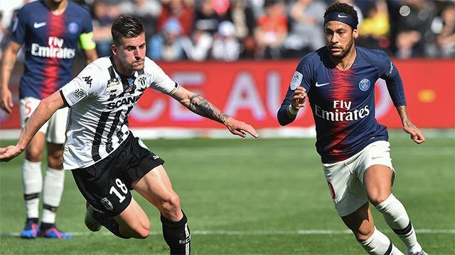 Lo mejor de Neymar ante el Angers