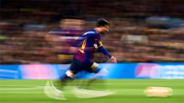 Messi convirtió a Jones en un meme... con esta escandalosa jugada solo al alcance de los más grandes