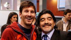Messi recordó a Maradona