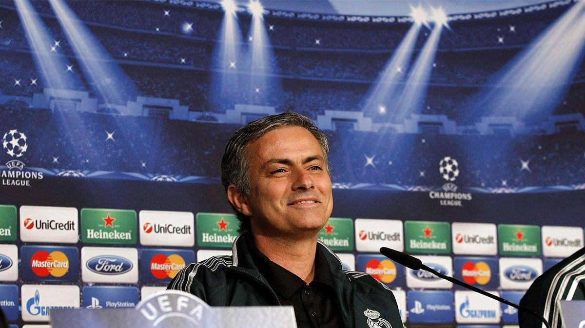 Mourinho y los 102 goles del Real Madrid en su primera temporada