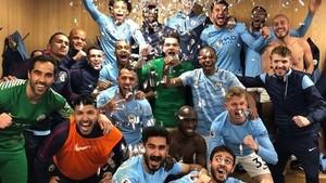 Mourinho se quejó de la efusividad de la plantilla del City