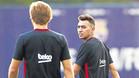 Munir se entrena con el Barça mientras se define su futuro