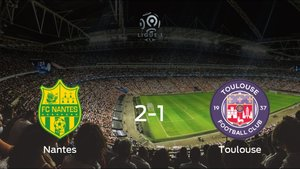 El FC Nantes consigue la victoria en casa frente al FC Toulouse (2-1)