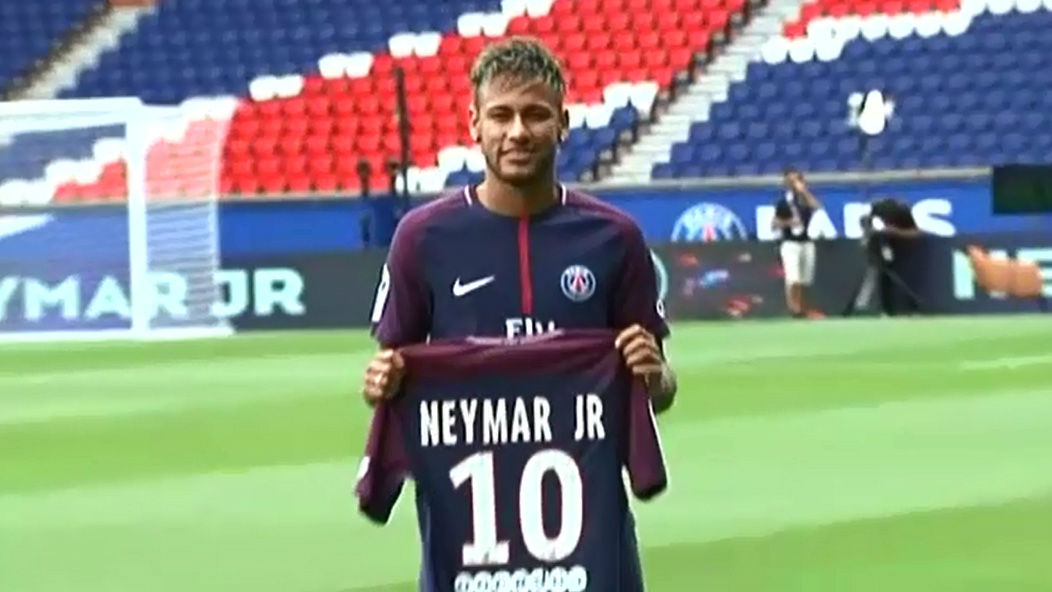 Neymar, presentado: No he venido buscando más protagonismo