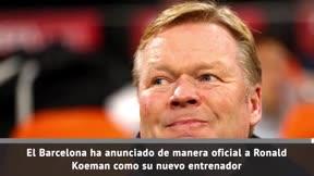 Oficial: Koeman, nuevo entrenador del Barça