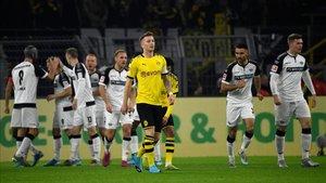 El Paderborn puso contra las cuerdas al Borussia