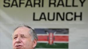 El presidente de la FIA, Jean Todt