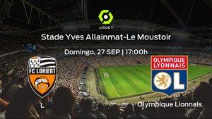 Previa del encuentro: el Lorient recibe al Olympique Lyon
