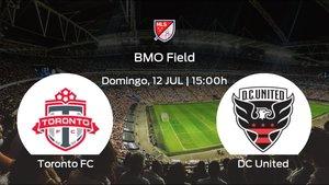 Previa del partido: comienza la MLS is back para el Toronto FC jugando frente al DC United