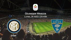 Previa del partido: el Inter inicia el torneo recibiendo al US Lecce