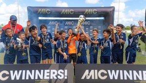PSG y Verum Academy, campeones