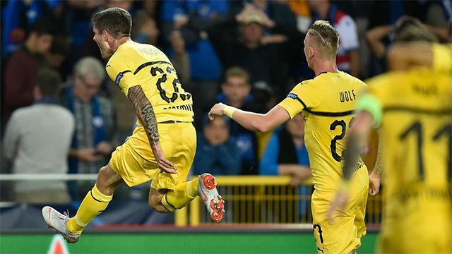 Pulisic da la primera victoria al Dortmund (0-1)