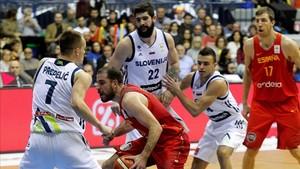 Quino Colom lideró a la selección española hacia la victoria