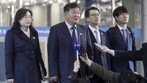 Roh Tae-kang, viceministro de deportes de Corea del Sur.