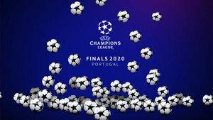 El sorteo de la Champions 2020, en directo