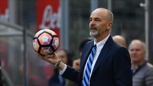 Stefano Pioli ha dirigido al Inter esta temporada