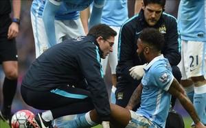 Sterling se lesionó en el derbi contra el United