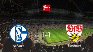 El Stuttgart consigue un empate a uno frente al Schalke 04