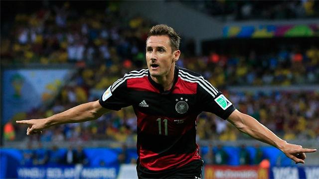Todos los goles de Klose en los mundiales
