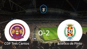 El Tres Cantos pierde ante el Atlético de Pinto por 0-2