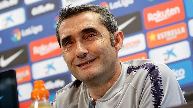 Valverde habló sobre el partido ante el Alavés