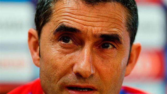Valverde se mostró cauto a la hora de valorar el rendimiento de Coutinho y Dembélé
