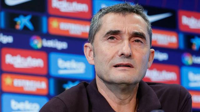 Valverde: La situación de Cataluña no es comparable a la del País Vasco