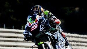 Zarco está cuajando un muy buen fin de semana en Brno