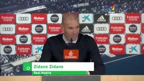 Zidane zanja la polémica del 9 hasta en tres ocasiones