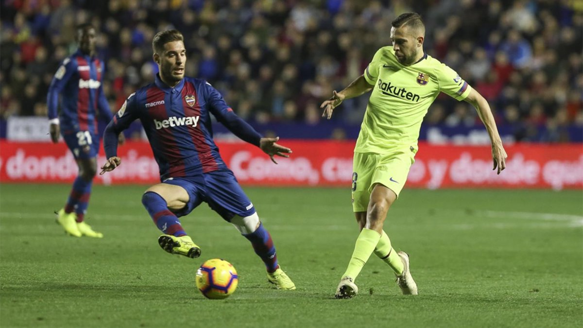"""Jordi Alba: """"Mi renovación sigue igual"""""""