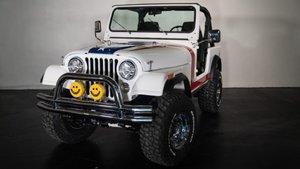 Jeep CJ7 de Gary Sinise.