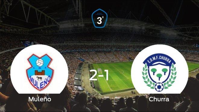 Victoria del Muleño por 2-1 frente al Churra