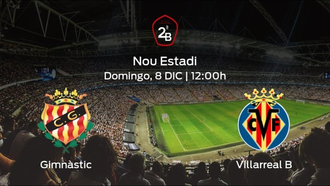 Jornada 16 de la Segunda División B: previa del duelo Gimnàstic Tarragona - Villarreal B