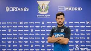 Arnáiz ya es nuevo jugador del Leganés