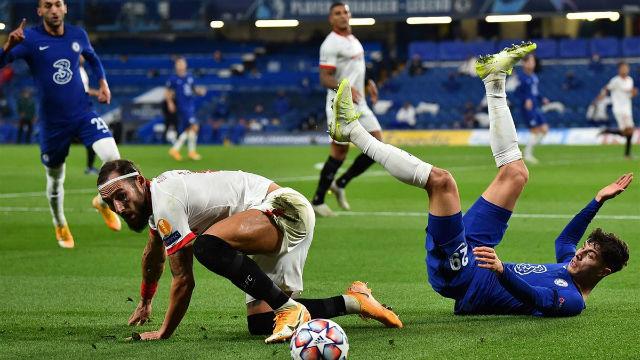 Así fue el intenso Chelsea-Sevilla