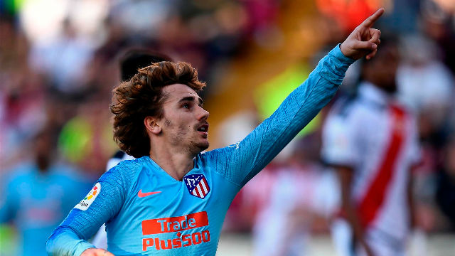 El Atlético gana al Rayo gracias a Griezmann
