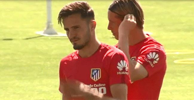 El Atlético prepara la final de lChampions con la noticia de la renovación de Saúl
