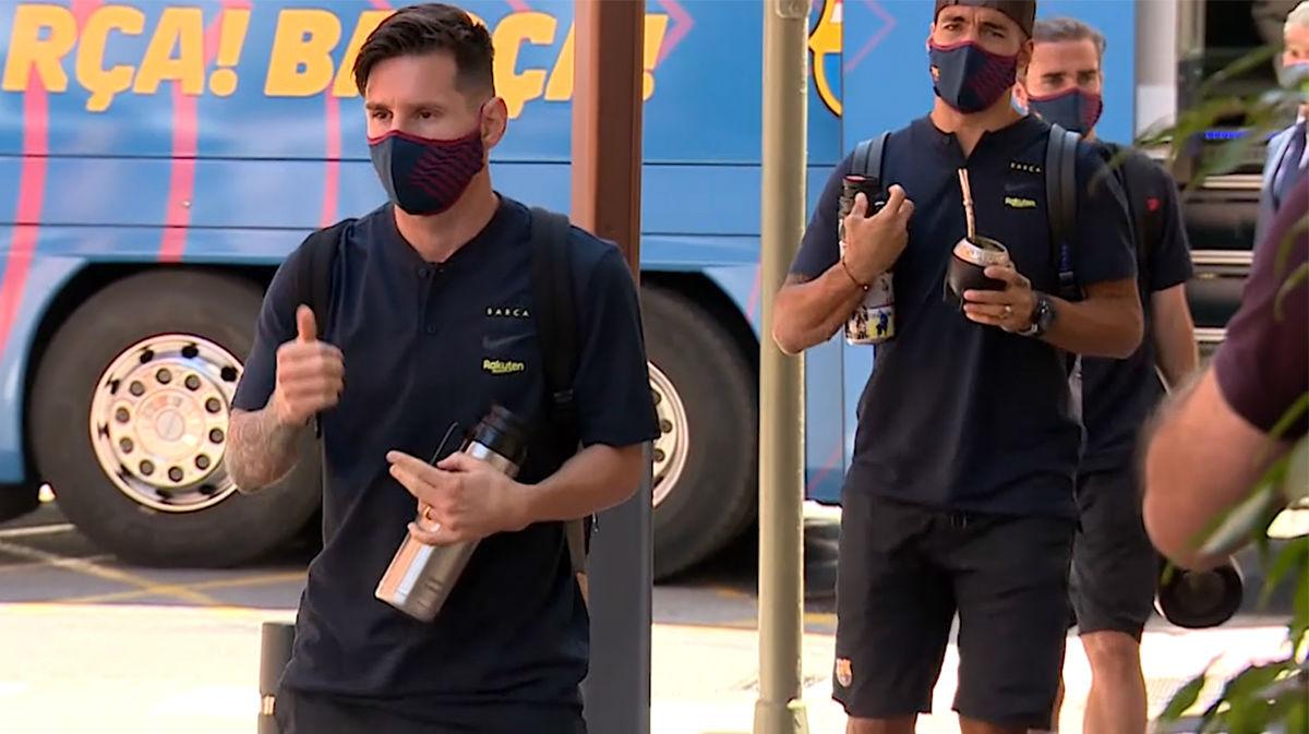 El Barça ya está en Castellón