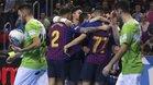 El Barça Lassa realizó su mejor partido de la temporada
