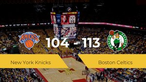 Boston Celtics consigue vencer a New York Knicks en el Madison Square Garden (104-113)
