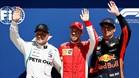 Bottas, Vettel y Verstappen en Canadá