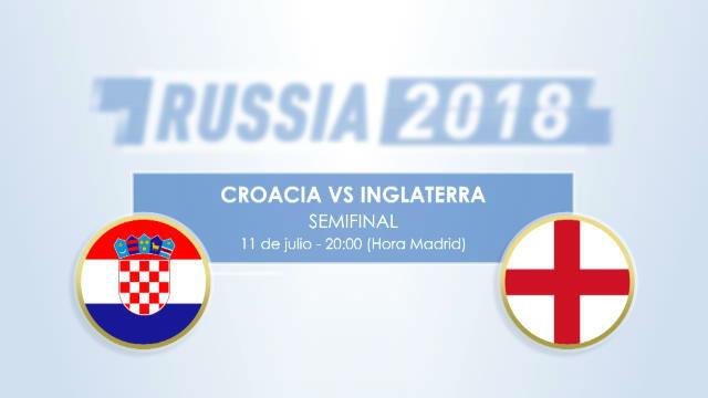 Cara a cara: Croacia - Inglaterra