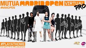 El cartel del Mutua Madrid Open Virtual Pro